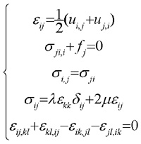Equation of equilibrium and compatibility